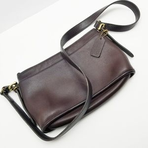 Coach Vintage Crossbody Brown Leather Bag